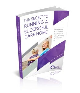 eBook - the secret to running a successful care home - Quality of Care